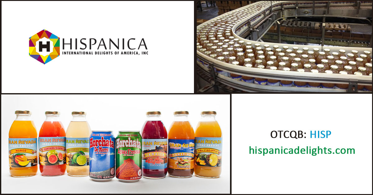 Hispanica International Delights of America, Inc. (HISP)